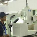 Students undergoing vocational training