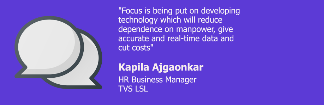 Apprenticeship Talks – In conversation with Kapila Ajgaonkar, HR Business Manager at TVS LSL