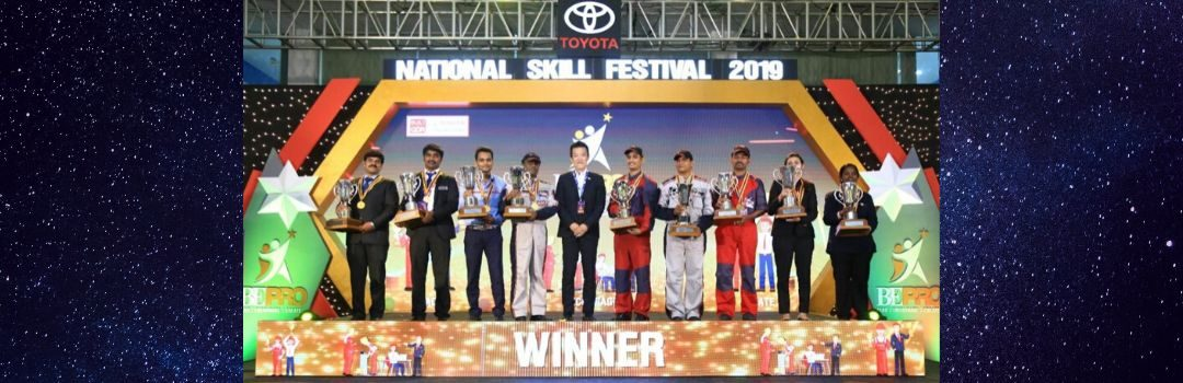 Toyota India Hosts the National Skill Festival 2019 For Its Dealership Personnel