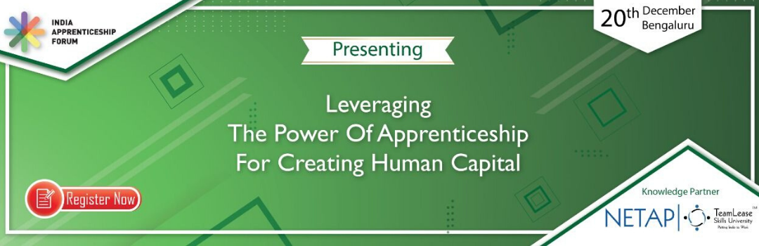 Leveraging The Power Of Apprenticeships For Creating Human Capital