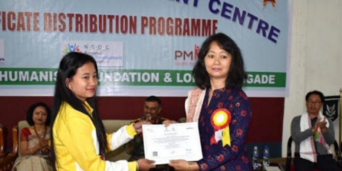 Skill certificate NSDC