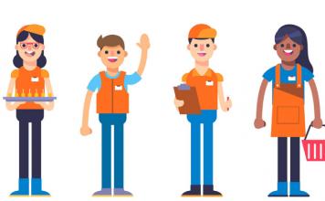 Happy apprentices